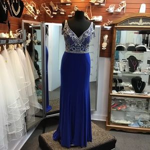 Rachel Allan Curves 6308 Royal size 16